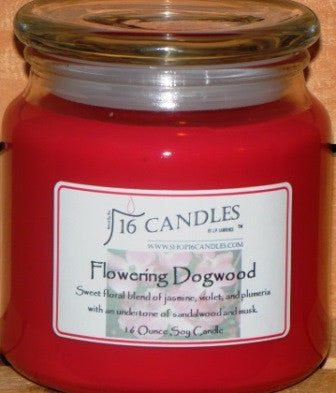 Flowering Dogwood ~ 16 Oz Soy Candle - Shop16Candles