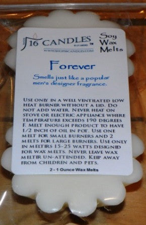 Forever ~ Scented Wax Melts - 16 Candles by J.P. Lawrence