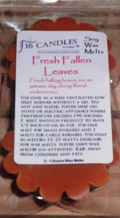 Fresh Fallen Leaves ~ Scented Wax Melts - 16 Candles by J.P. Lawrence