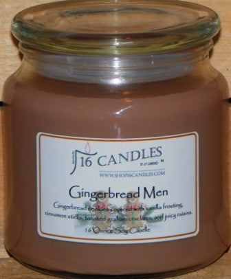 Gingerbread Men ~ 16 Oz Soy Candle