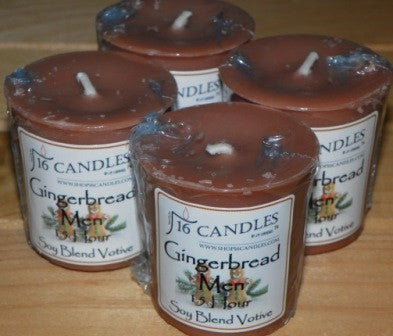 Gingerbread Votive ~ Single or 4 Pack