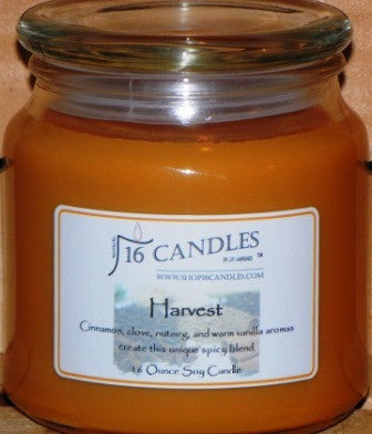 Harvest ~ 16 Oz Soy Candle - Shop16Candles