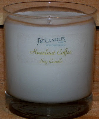 Hazelnut Coffee ~ Tumbler Glass Soy Candle