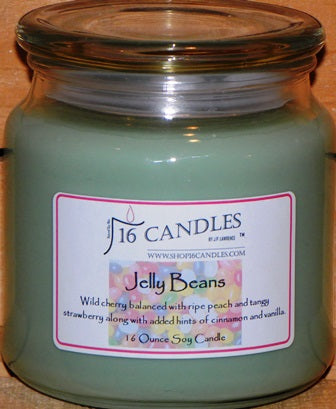 Jelly Bean - 16 Oz Soy Candle