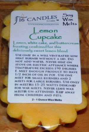 Lemon Cupcake - Scented Wax Melts - 16 Candles by J.P. Lawrence