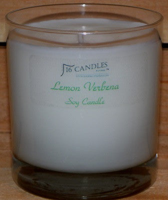 Lemon Verbena ~ Tumbler Glass Soy Candle