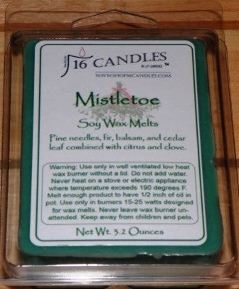 Mistletoe ~ Scented Wax Melts