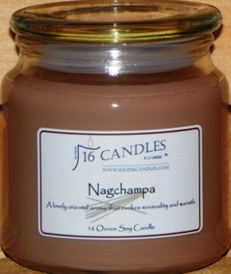 Nagchampa ~ 16 Oz Soy Candle - Shop16Candles