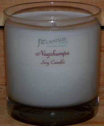 Nagchampa ~ Tumbler Glass Soy Candle