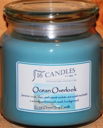 Ocean Overlook ~ 16 Oz Soy Candle - Shop16Candles