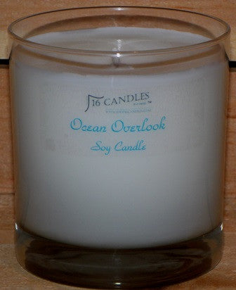 Ocean Overlook ~ Tumbler Glass Soy Candle