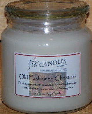 Old Fashioned Christmas ~ 16 Oz Soy Candle