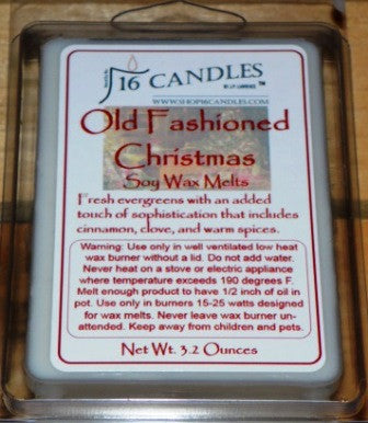 Old Fashioned Christmas ~ Soy Wax Melts