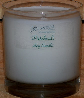 Patchouli ~ Tumbler Glass Soy Candle
