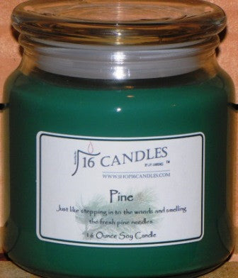 Pine ~ 16 Oz Soy Candle - Shop16Candles