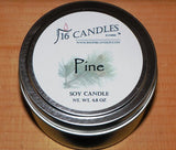Pine ~ Small Tin Soy Candle