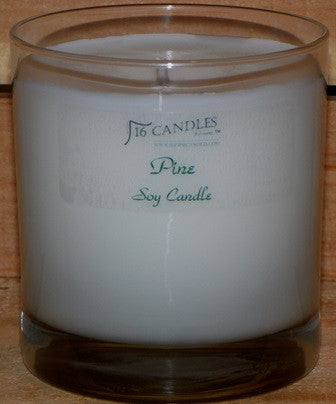 Pine ~ Tumbler Glass Soy Candle