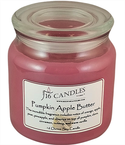 Pumpkin Apple Butter ~ 16 Oz Soy Candle
