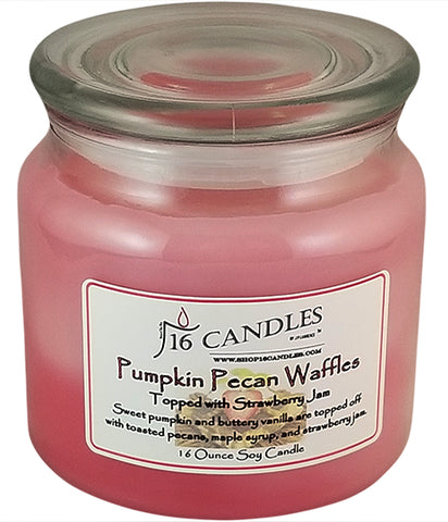 Pumpkin Pecan Strawberry ~ Soy Candle