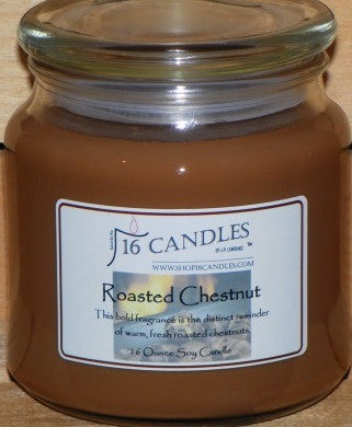 Roasted Chestnuts ~ 16 Oz Soy Candle