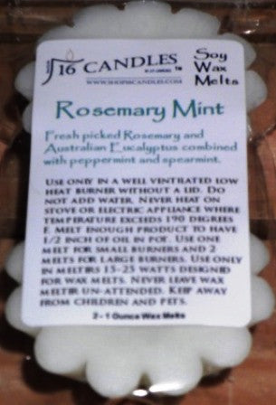 Rosemary Mint - Scented Wax Melts - 16 Candles by J.P. Lawrence