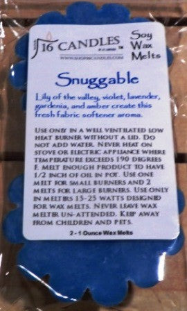 Snuggable ~ Scented Wax Melts - 16 Candles by J.P. Lawrence