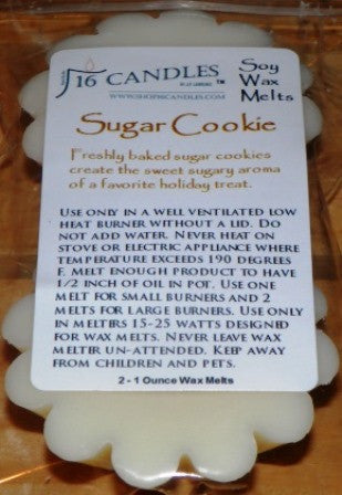 Sugar Cookie ~ Scented Wax Melts - 16 Candles by J.P. Lawrence