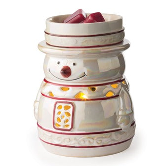 Snowy ~ 17 Watt 2 in 1 Holiday Fragrance Warmer