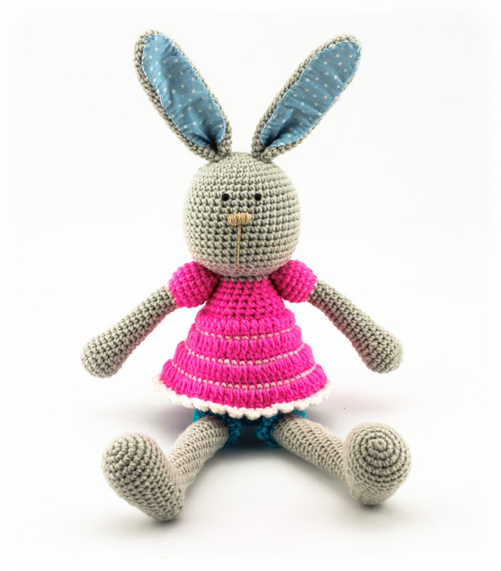 Bella Bunny Pink and Blue - Front