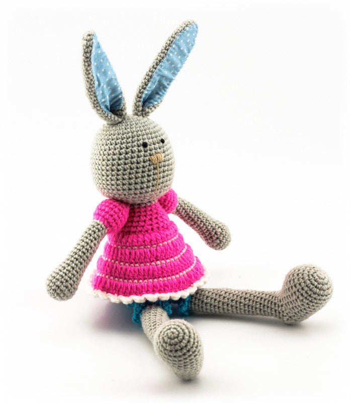 Bella Bunny Pink and Blue - Side