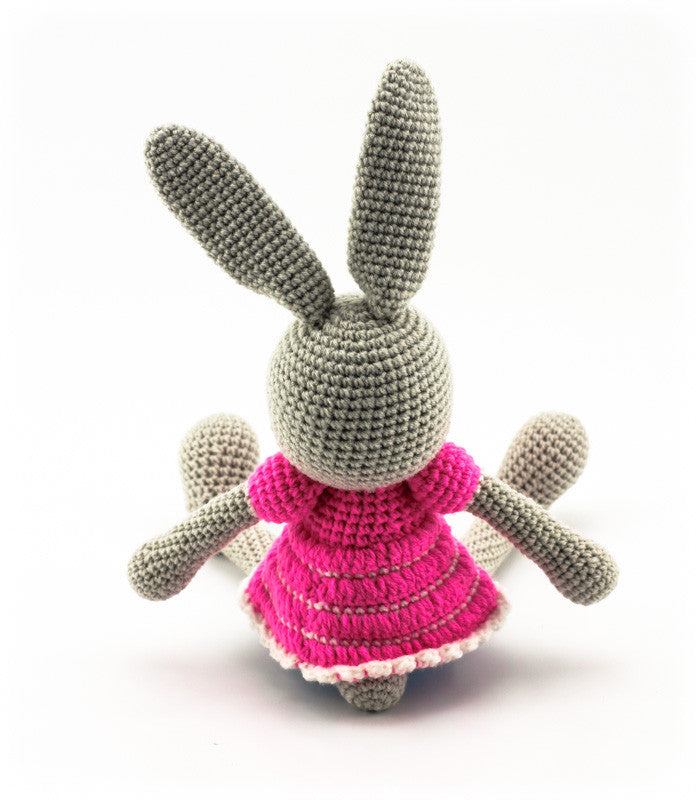 Bella Bunny Pink and Blue - Back