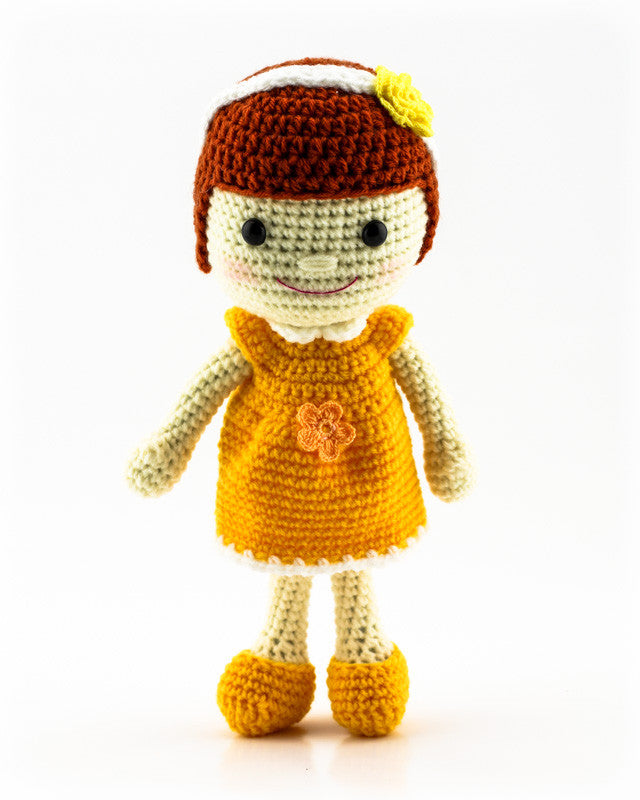 Leila Doll Yellow - Front