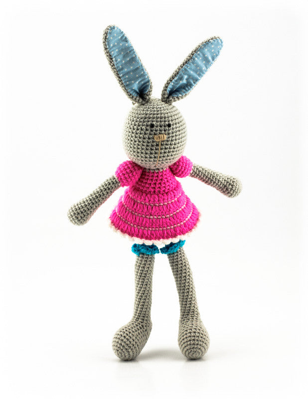 Bella Bunny Pink and Blue - Standing