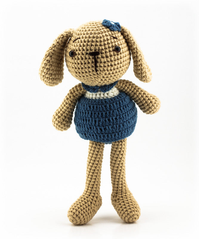 Lottie the Bunny Blue - Standing