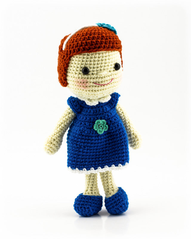 Leila Doll Blue - Front