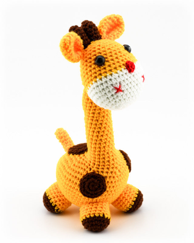 Gerry Giraffe Sunshine Yellow - Side