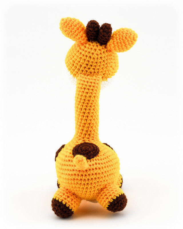 Gerry Giraffe Sunshine Yellow - Back