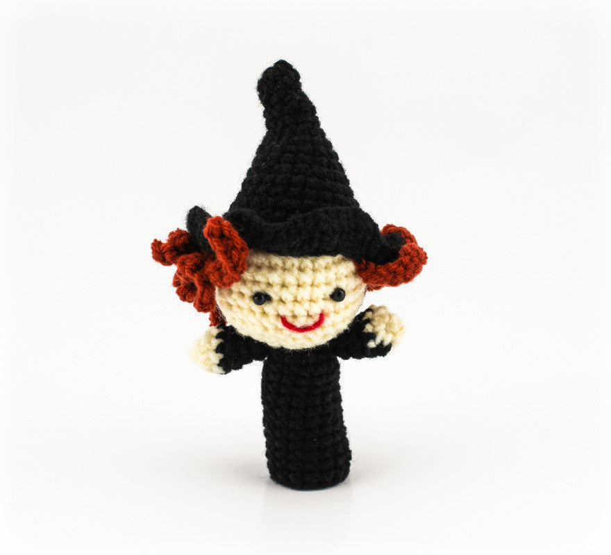 Wise Witch Finger Puppet - Front