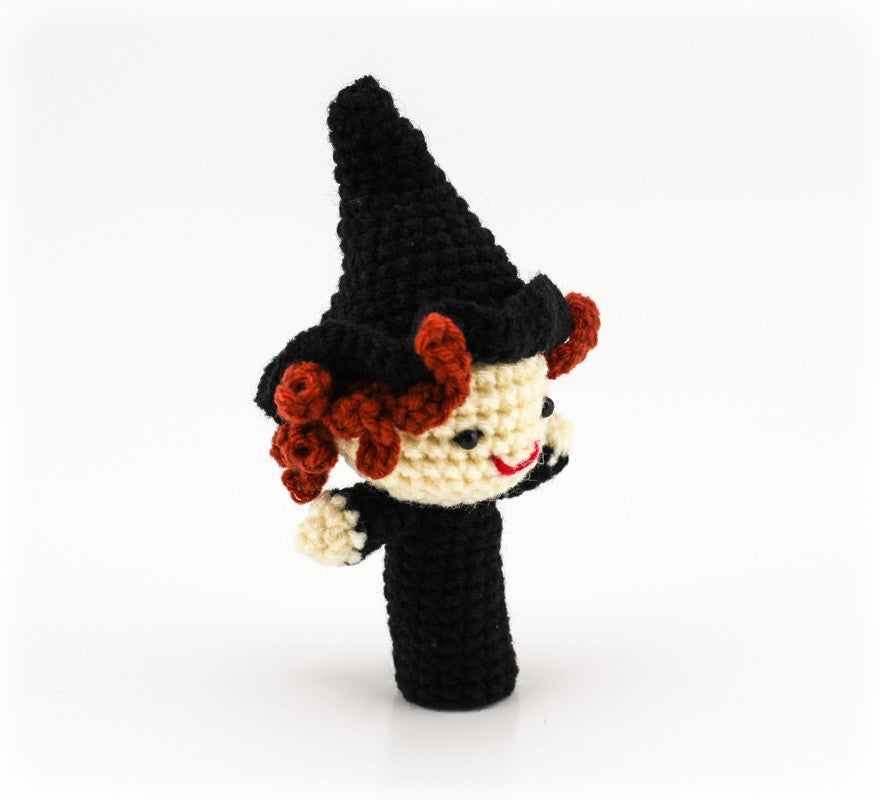 Wise Witch Finger Puppet - Side
