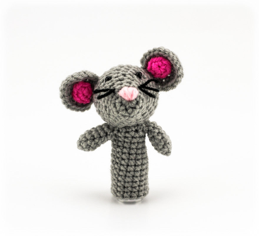 Milly Mouse Finger Puppet - Front