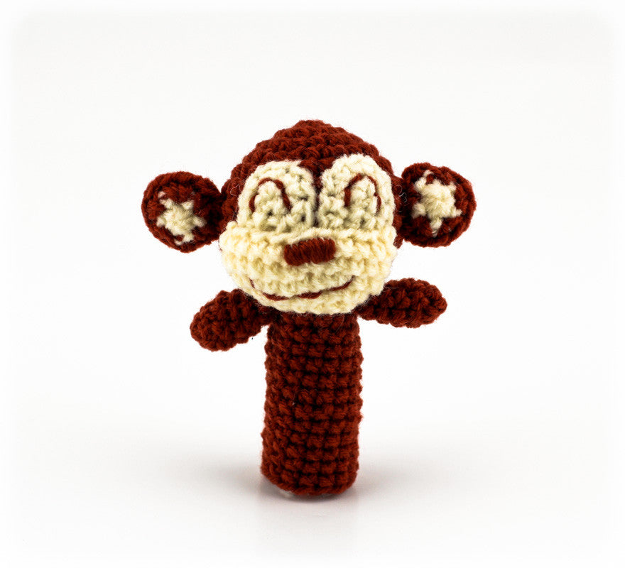 Molly Monkey Finger Puppet - Front