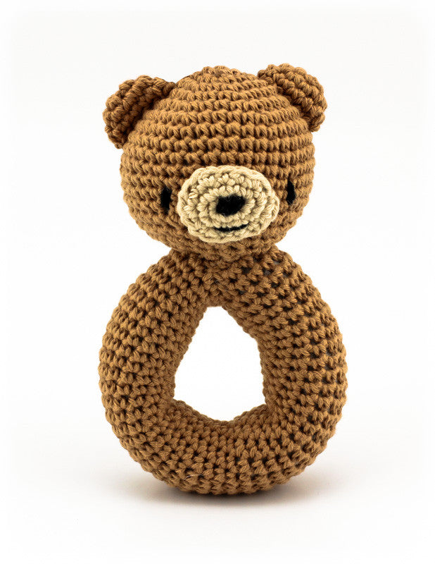 Barnaby Bear Rattle - Standing