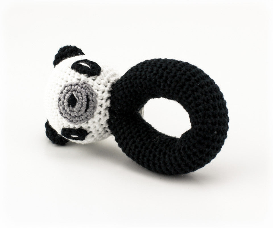 Posy Panda Rattle - Side