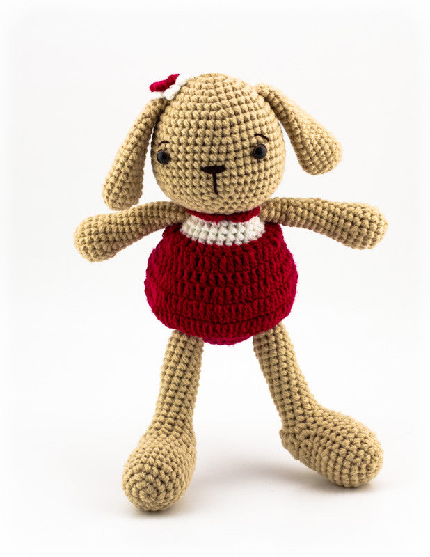 Lottie the Bunny Red- Standing