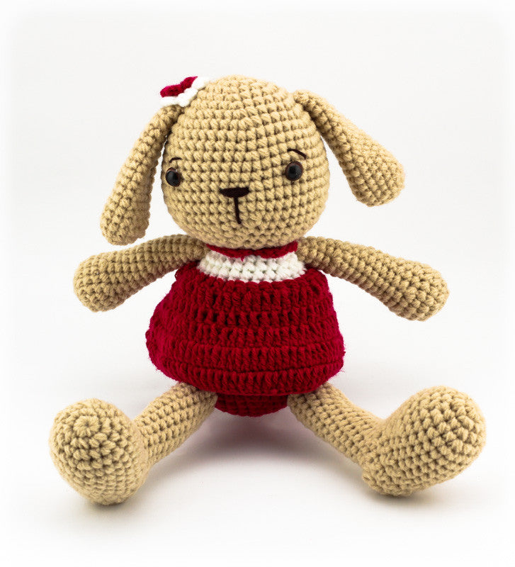 Lottie the Bunny Red - Front