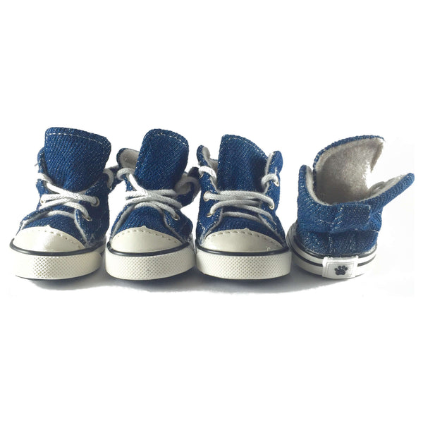 Adidog Blue Denim Sneakers