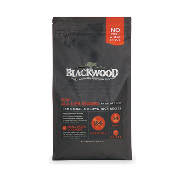 Blackwood BW 3000 Lamb & Rice All Life Stages