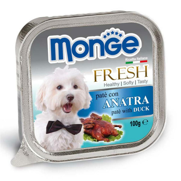 Monge Fresh Duck Wet Dog Food