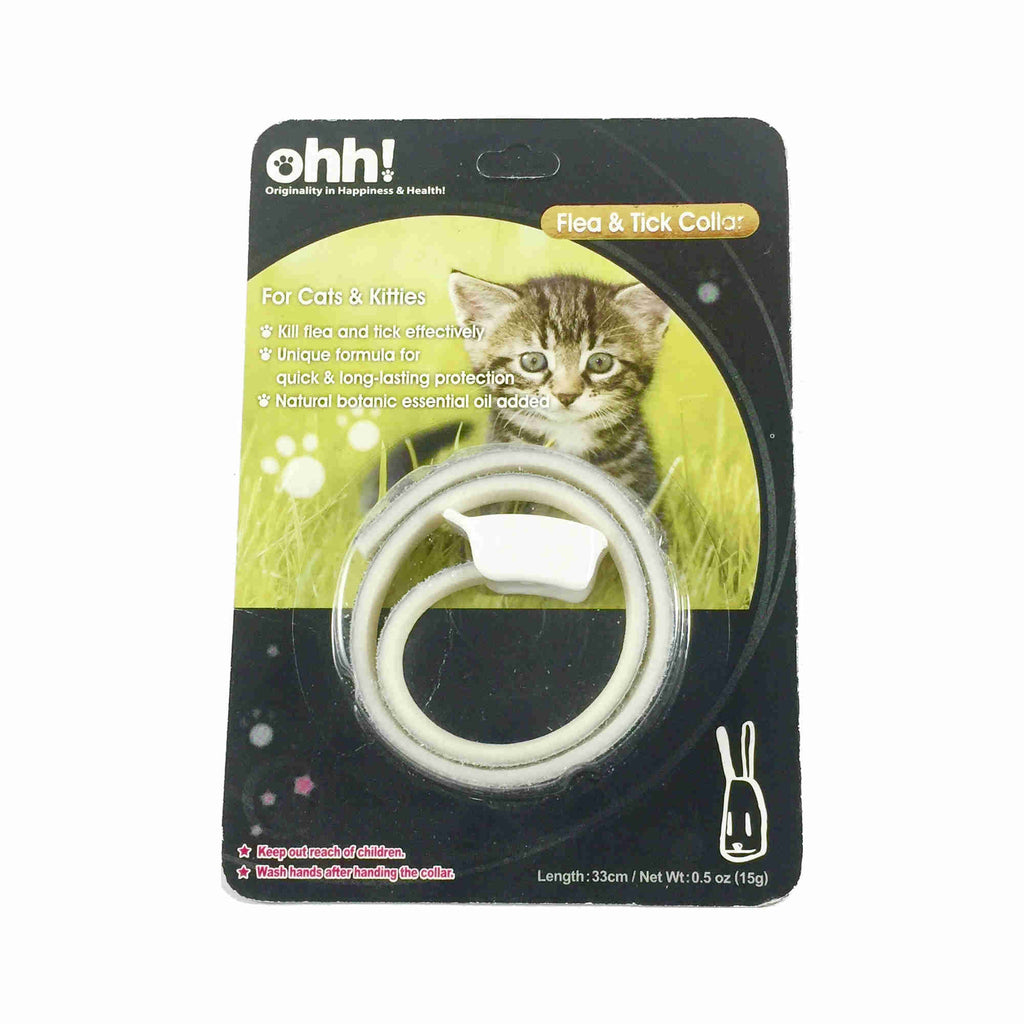 Ohh! Tick & Flea Collar for Cats
