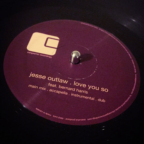 EGC-4006 Jesse Outlaw : Love You So 12""
